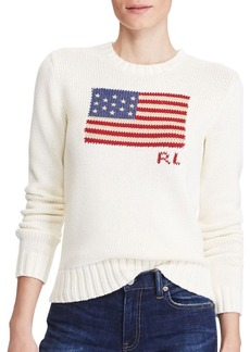 Ralph Lauren: Polo Polo Ralph Lauren Flag Cotton Sweater