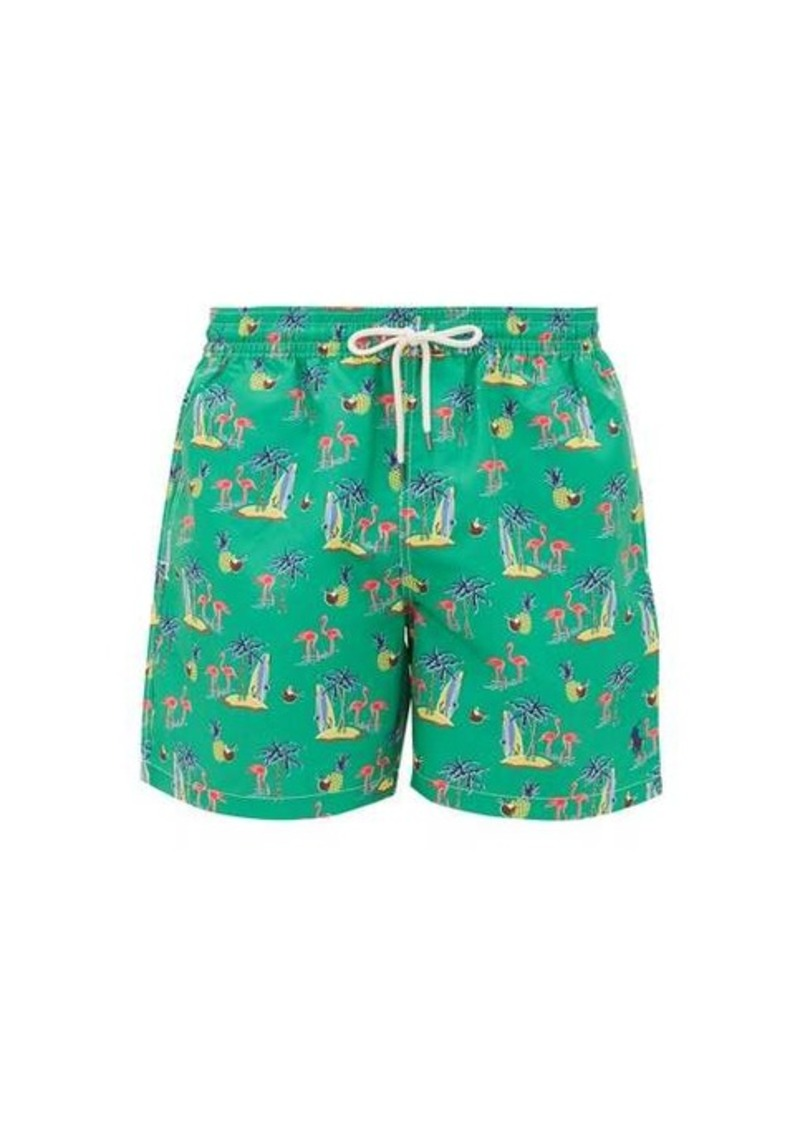 Ralph Lauren Polo Polo Ralph Lauren Flamingo-print swim shorts