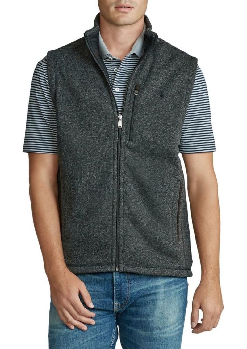 Ralph Lauren Polo Polo Ralph Lauren Fleece Mockneck Vest
