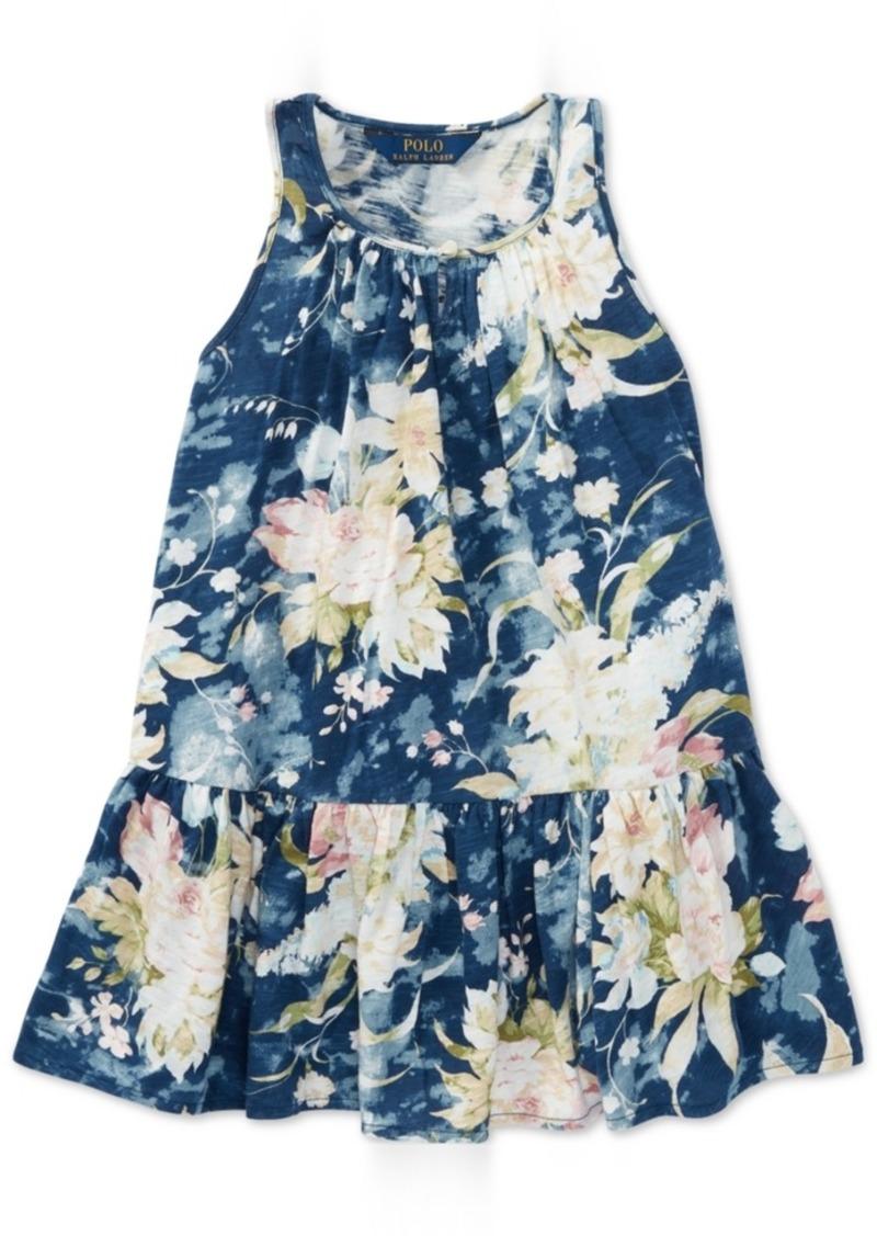 9bd9faad30152 Ralph Lauren: Polo Polo Ralph Lauren Floral Cotton Jersey Dress ...