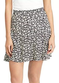 Ralph Lauren: Polo Polo Ralph Lauren Floral Crepe A-Line Skirt