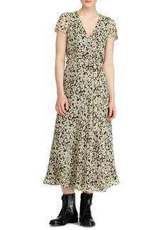 Ralph Lauren: Polo Polo Ralph Lauren Floral Crepe Wrap Dress