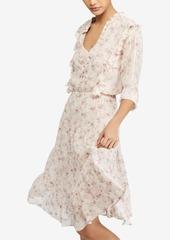 Ralph Lauren: Polo Polo Ralph Lauren Floral-Print Gauze Dress