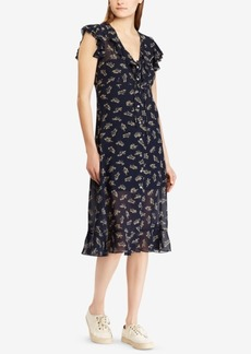 Ralph Lauren: Polo Polo Ralph Lauren Floral-Print Georgette Dress