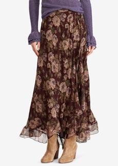 Ralph Lauren: Polo Polo Ralph Lauren Floral-Print Maxiskirt