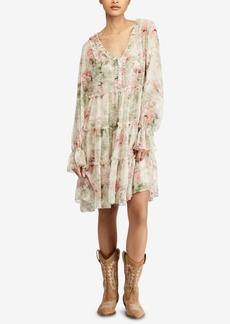 Ralph Lauren: Polo Polo Ralph Lauren Floral-Print Ruffled Dress