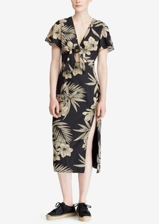 Ralph Lauren: Polo Polo Ralph Lauren Floral-Print Slim Fit Dress