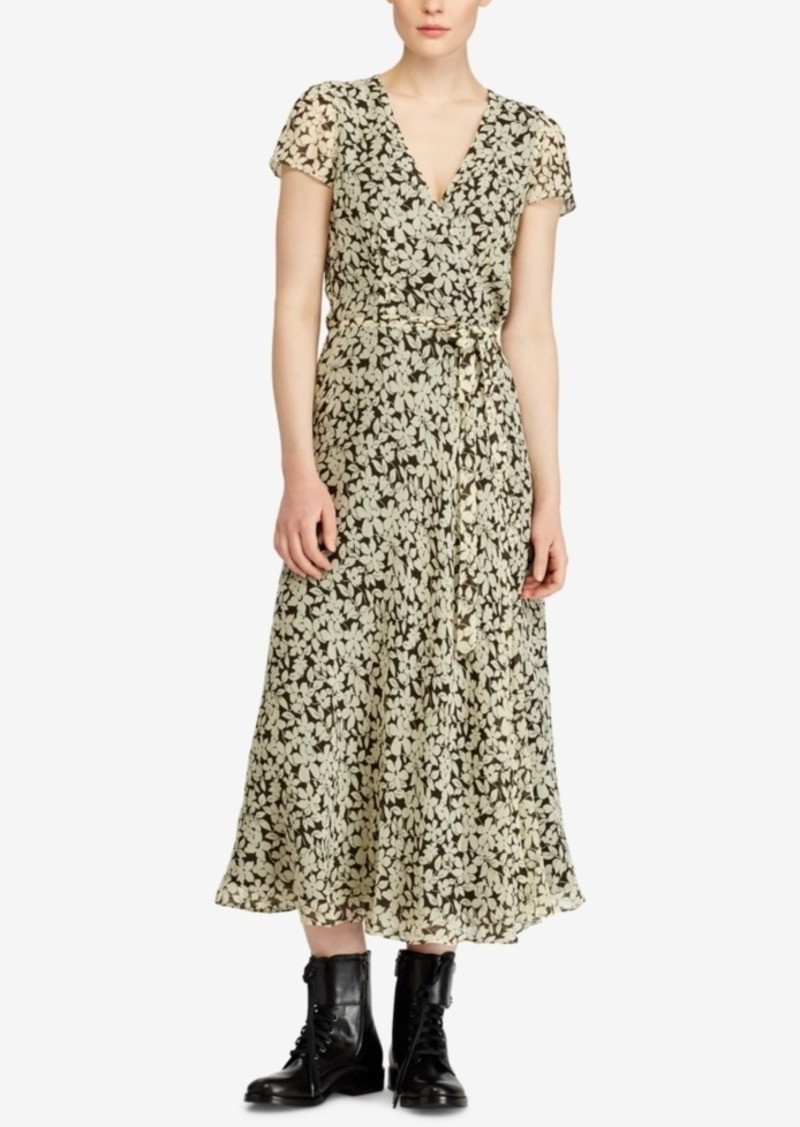 fc89e3dd09e21 Ralph Lauren  Polo Polo Ralph Lauren Floral-Print Wrap Dress
