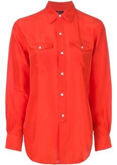 Ralph Lauren: Polo Polo Ralph Lauren fluid buttoned blouse - Red
