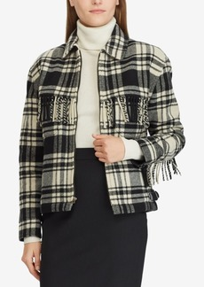 Ralph Lauren: Polo Polo Ralph Lauren Fringe Zip Jacket