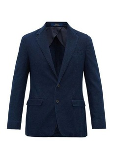 Ralph Lauren Polo Polo Ralph Lauren Garment-dyed cotton-piqué blazer