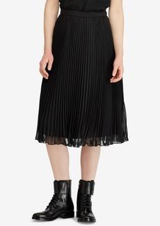 Ralph Lauren: Polo Polo Ralph Lauren Georgette Pleated Skirt