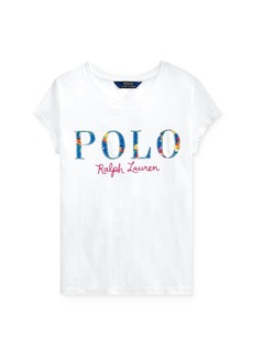 Ralph Lauren: Polo Polo Ralph Lauren Girls' Appliqu�d Logo Tee - Big Kid