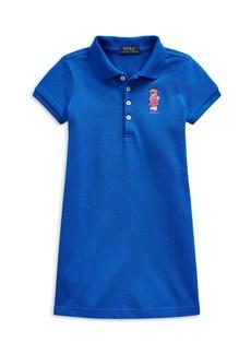 Ralph Lauren: Polo Polo Ralph Lauren Girls' Bear Polo Dress - Little Kid