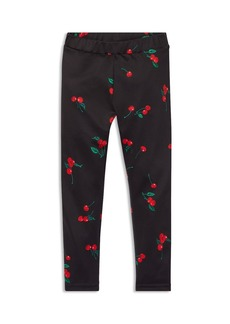 Ralph Lauren: Polo Polo Ralph Lauren Girls' Cherry-Print Leggings - Little Kid