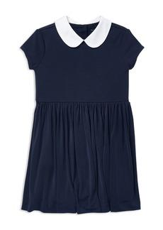 Ralph Lauren: Polo Polo Ralph Lauren Girls' Crepe Dress - Little Kid