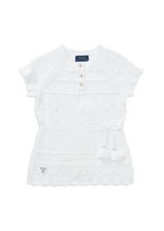 Ralph Lauren: Polo Polo Ralph Lauren Girls' Crochet Tunic - Little Kid