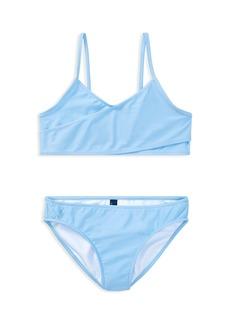 Ralph Lauren: Polo Polo Ralph Lauren Girls' Crossover 2-Piece Swimsuit - Little Kid