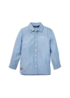 Ralph Lauren: Polo Polo Ralph Lauren Girls' Embroidered Shirt - Little Kid