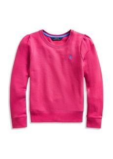 Ralph Lauren: Polo Polo Ralph Lauren Girls' Fleece Top - Big Kid