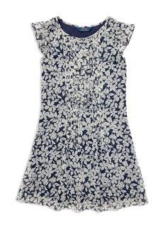 Ralph Lauren: Polo Polo Ralph Lauren Girls' Floral Chiffon Dress - Big Kid