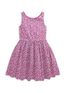 Ralph Lauren: Polo Polo Ralph Lauren Girls' Floral Cotton Dress - Big Kid