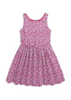Ralph Lauren: Polo Polo Ralph Lauren Girls' Floral Cotton Dress - Little Kid