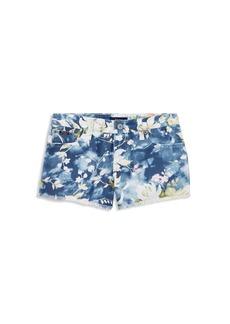 Ralph Lauren: Polo Polo Ralph Lauren Girls' Floral-Print Denim Shorts - Big Kid