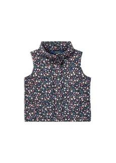 Ralph Lauren: Polo Polo Ralph Lauren Girls' Floral Puffer Vest - Little Kid