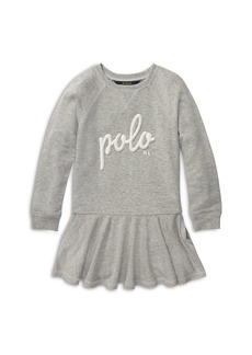 Ralph Lauren: Polo Polo Ralph Lauren Girls' French Terry Sweater Dress - Little Kid