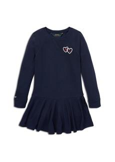 Ralph Lauren: Polo Polo Ralph Lauren Girls' French Terry Sweater Dress - Little Kid