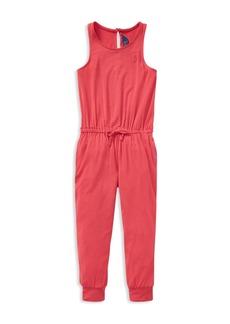 Ralph Lauren: Polo Polo Ralph Lauren Girls' Knit Romper - Little Kid