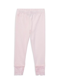 Ralph Lauren: Polo Polo Ralph Lauren Girls' Lace-Trim Leggings - Little Kid