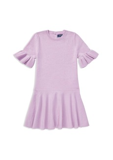 Ralph Lauren: Polo Polo Ralph Lauren Girls' Loryelle Wool Bell-Sleeve Sweater Dress - Little Kid