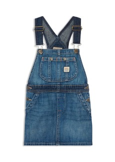 Ralph Lauren: Polo Polo Ralph Lauren Girls' Overall Denim Dress - Little Kid