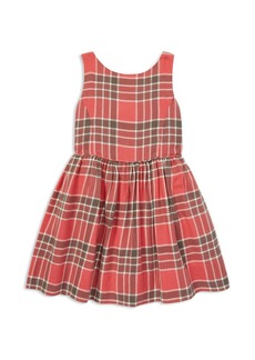 Ralph Lauren: Polo Polo Ralph Lauren Girls' Plaid Cotton Dress - Little Kid