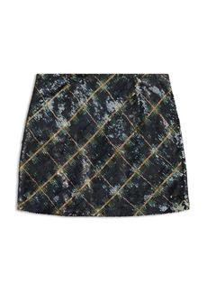Ralph Lauren: Polo Polo Ralph Lauren Girls' Plaid Sequin Skirt - Big Kid