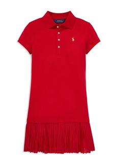 Ralph Lauren: Polo Polo Ralph Lauren Girls' Pleated Polo Dress - Big Kid