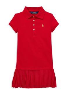 Ralph Lauren: Polo Polo Ralph Lauren Girls' Pleated Polo Dress - Little Kid