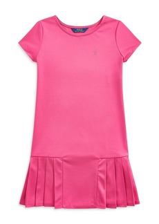 Ralph Lauren: Polo Polo Ralph Lauren Girls' Pleated Skirt T-Shirt Dress - Big Kid