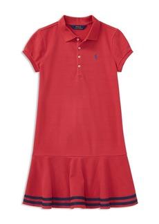 Ralph Lauren: Polo Polo Ralph Lauren Girls' Polo Dress - Big Kid