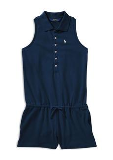 Ralph Lauren: Polo Polo Ralph Lauren Girls' Polo Romper - Big Kid