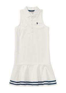 Ralph Lauren: Polo Polo Ralph Lauren Girls' Polo Shirt Dress - Big Kid