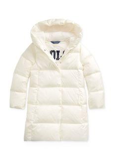 Ralph Lauren: Polo Polo Ralph Lauren Girls' Quilted Down Coat - Big Kid