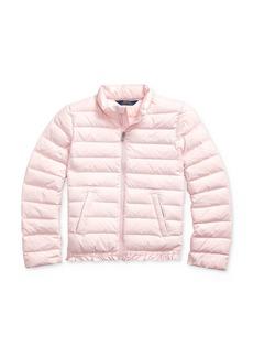 Ralph Lauren: Polo Polo Ralph Lauren Girls' Ruffle-Hem Down Jacket - Big Kid