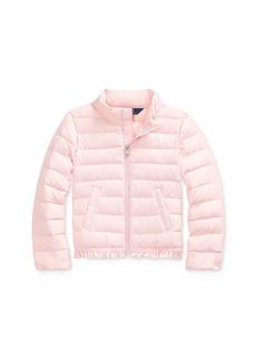 Ralph Lauren: Polo Polo Ralph Lauren Girls' Ruffle-Hem Down Jacket - Little Kid