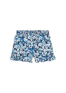 Ralph Lauren: Polo Polo Ralph Lauren Girls' Ruffled Floral-Print Shorts - Little Kid