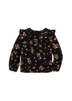 Ralph Lauren: Polo Polo Ralph Lauren Girls' Ruffled Floral Top - Little Kid