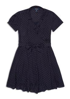 Ralph Lauren: Polo Polo Ralph Lauren Girls' Ruffled Polka-Dot Dress - Big Kid