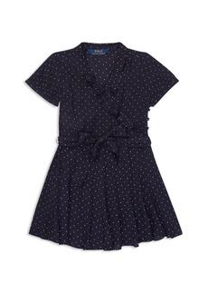 Ralph Lauren: Polo Polo Ralph Lauren Girls' Ruffled Polka-Dot Dress - Little Kid